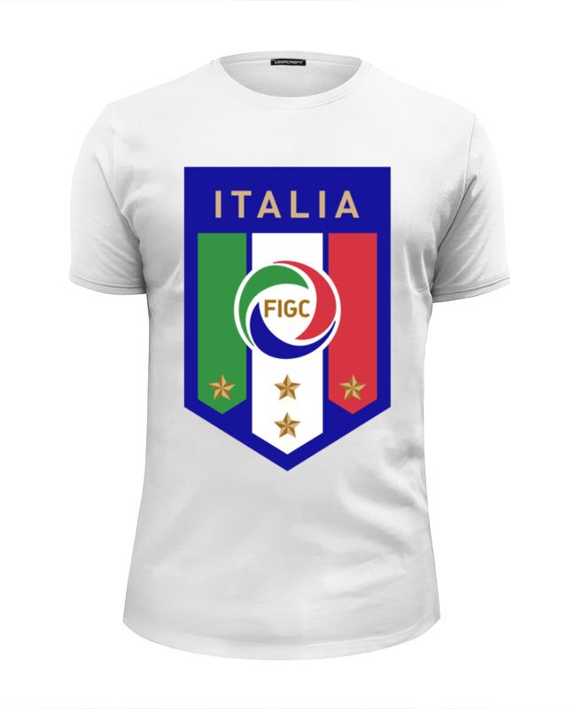Футболка Wearcraft Premium Slim Fit Printio Итальянская федерация футбола (figc) udinese calcio parma calcio