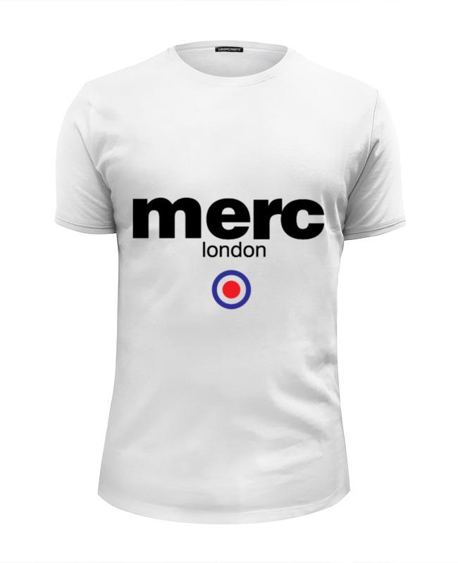 где купить Футболка Wearcraft Premium Slim Fit Printio Merc london по лучшей цене