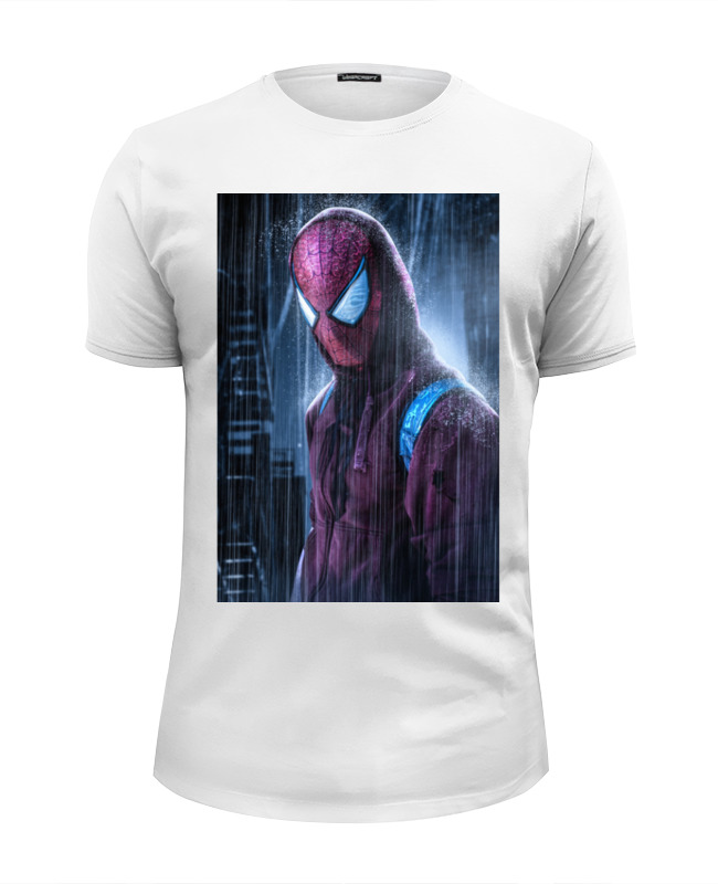 Футболка Wearcraft Premium Slim Fit Printio Человек-паук (spider-man) футболка wearcraft premium slim fit printio spider man