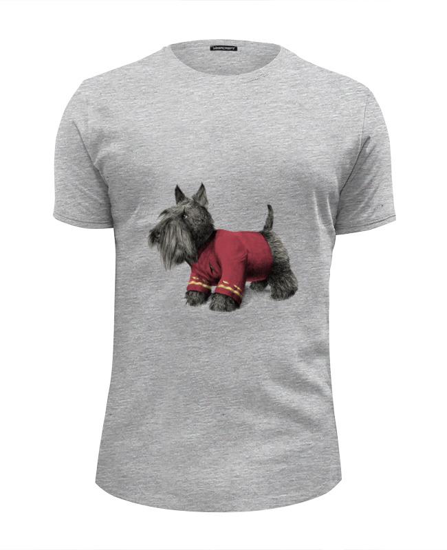 Футболка Wearcraft Premium Slim Fit Printio Терьер футболка wearcraft premium slim fit printio шотландский терьер скотч терьер