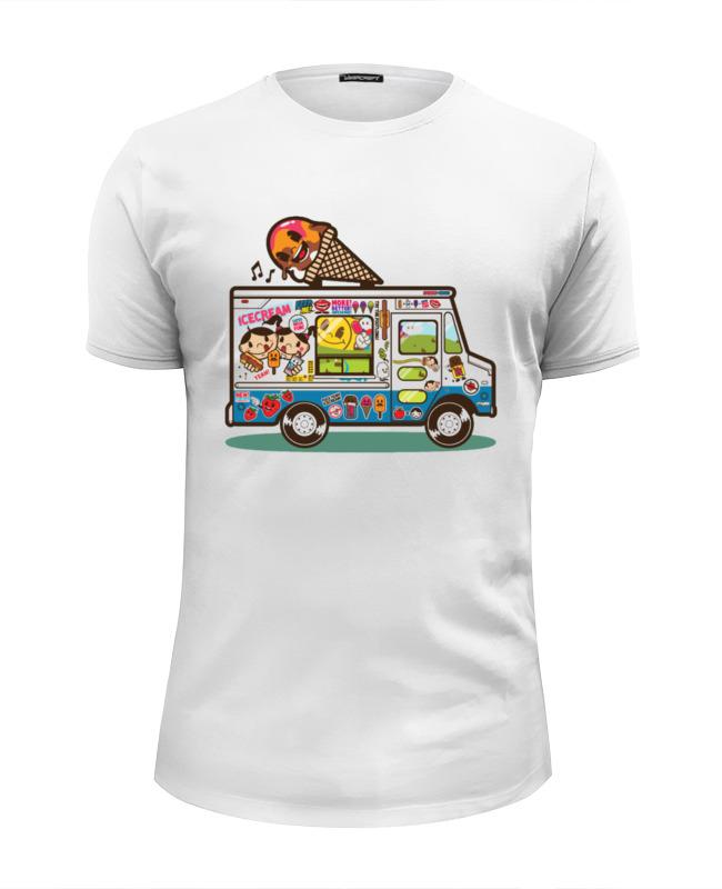 Футболка Wearcraft Premium Slim Fit Printio Fun bus
