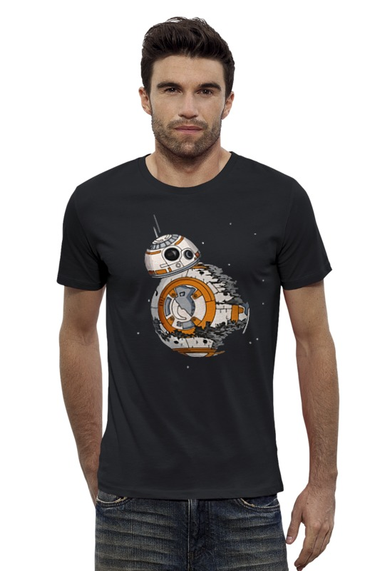Футболка Wearcraft Premium Slim Fit Printio Bb-8 (star wars) диск пластиковый star fit bb 20 d 26 мм черный 1кг