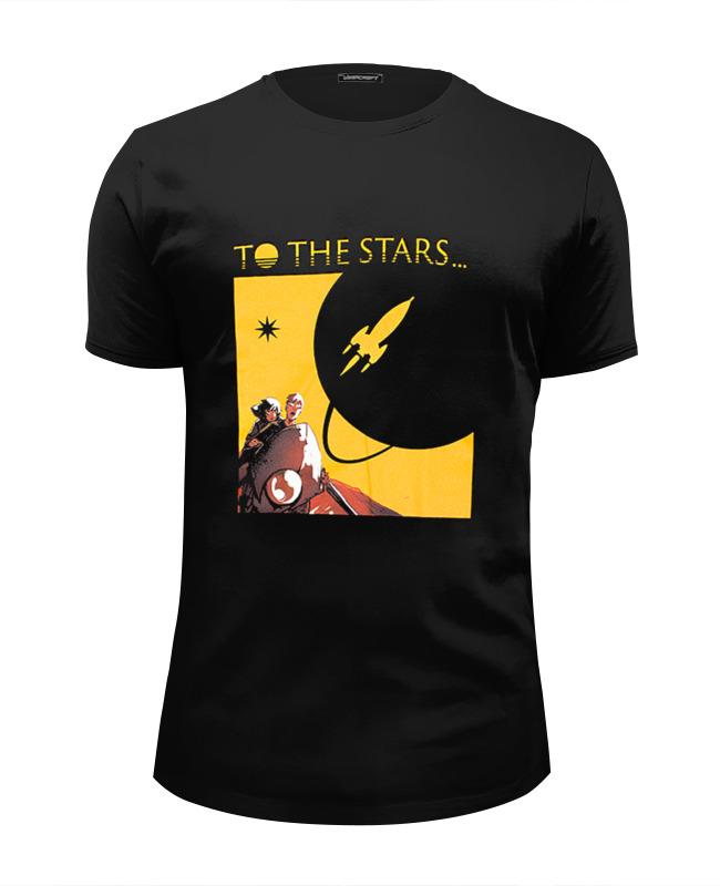 Футболка Wearcraft Premium Slim Fit Printio To the stars dream world viktor khorunzhy star angels the new world