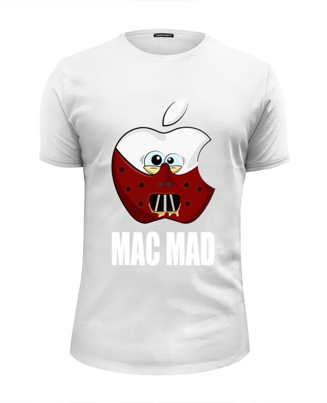 Футболка Wearcraft Premium Slim Fit Printio Mac mad футболка wearcraft premium slim fit printio mad survive