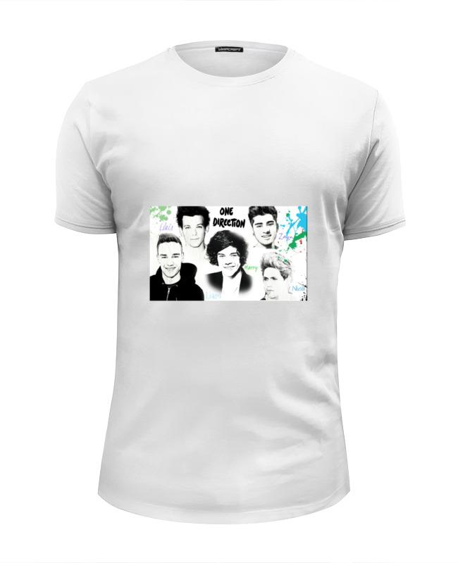 Футболка Wearcraft Premium Slim Fit Printio One direction футболка slim one nt5721 2015