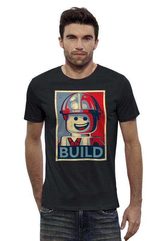 Футболка Wearcraft Premium Slim Fit Printio Лего строитель футболка wearcraft premium slim fit printio мстители лего