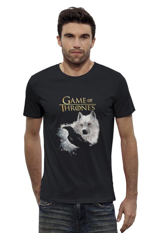 Футболка Wearcraft Premium Slim Fit Printio Game of thrones футболка wearcraft premium printio игра престолов