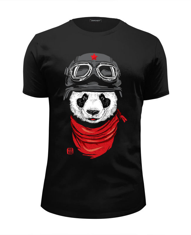 Футболка Wearcraft Premium Slim Fit Printio Панда (panda) футболка wearcraft premium slim fit printio panda dab