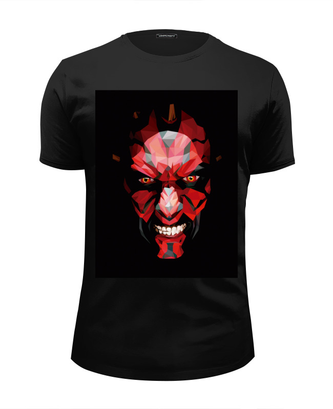 Футболка Wearcraft Premium Slim Fit Printio Дарт мол (darth maul) блокнот printio дарт мол darth maul