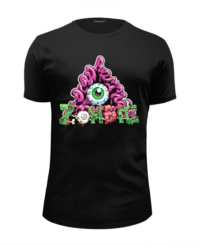 Футболка Wearcraft Premium Slim Fit Printio Zombie футболка wearcraft premium slim fit printio zombie man
