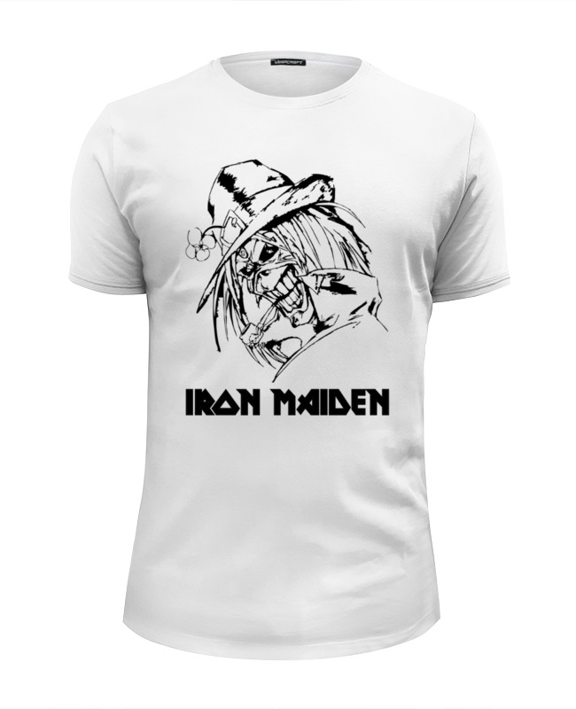 Футболка Wearcraft Premium Slim Fit Printio Iron maiden cd iron maiden a matter of life and death