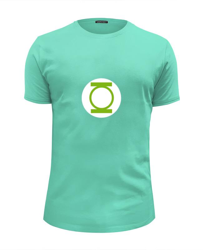 Футболка Wearcraft Premium Slim Fit Printio Зеленый фонарь футболка wearcraft premium slim fit printio теория большого бадабума