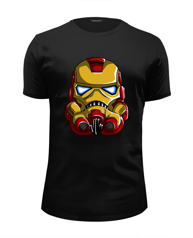 Printio Iron trooper футболка wearcraft premium slim fit printio trooper