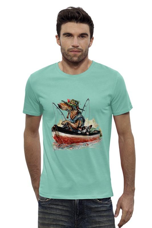Футболка Wearcraft Premium Slim Fit Printio Рыболов (2) футболка wearcraft premium slim fit printio saints row 2 blak