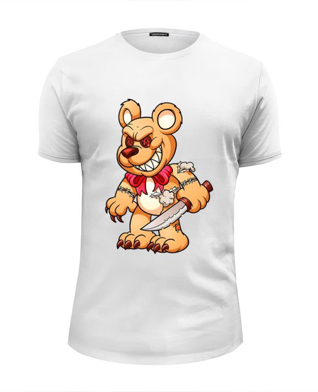 Printio Фредди мишка футболка wearcraft premium slim fit printio белый мишка