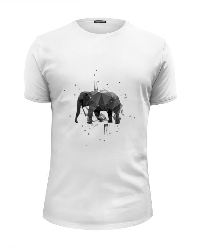 Футболка Wearcraft Premium Slim Fit Printio Elephant