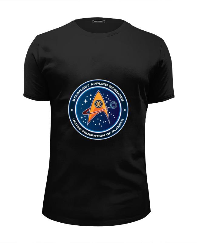 Футболка Wearcraft Premium Slim Fit Printio Звёздный путь футболка wearcraft premium slim fit printio футболка звёздный человек