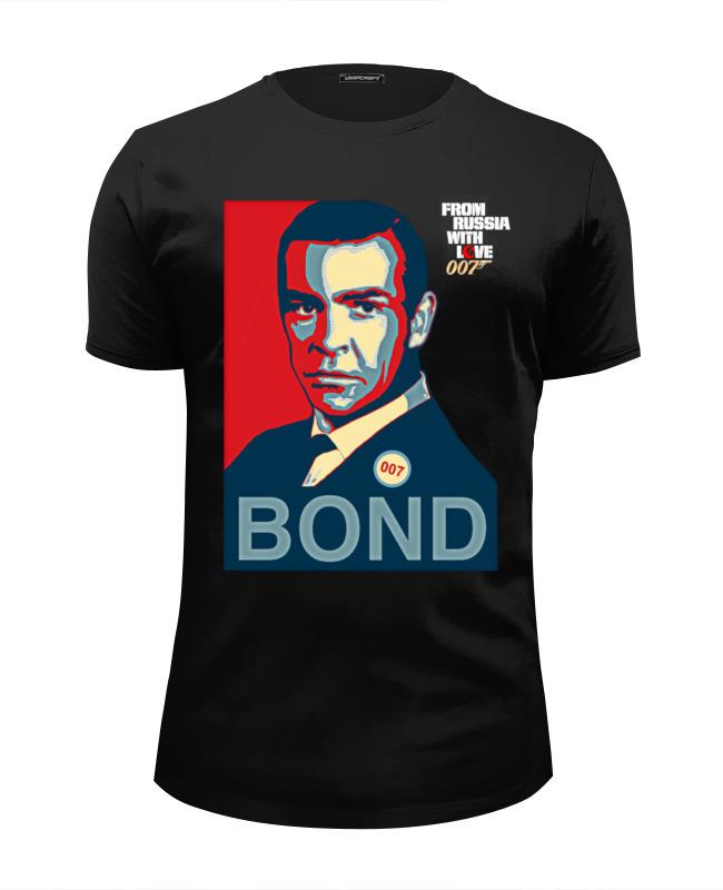 Футболка Wearcraft Premium Slim Fit Printio James bond футболка стрэйч printio james bond