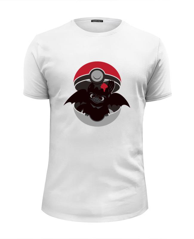 Футболка Wearcraft Premium Slim Fit Printio Поймай дракона футболка wearcraft premium slim fit printio дух дракона