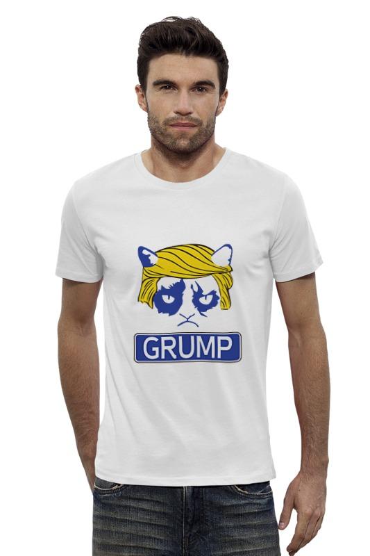 Футболка Wearcraft Premium Slim Fit Printio Угрюмый трамп футболка wearcraft premium printio трамп великая россия