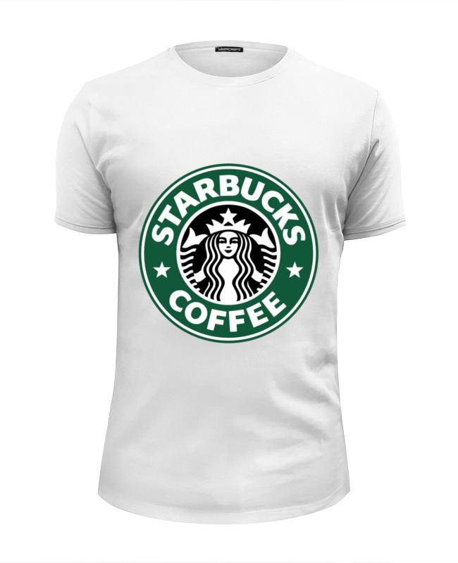 Футболка Wearcraft Premium Slim Fit Printio Starbucks coffee футболка wearcraft premium printio belles book cafe starbucks