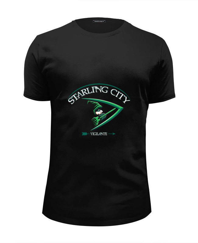 Футболка Wearcraft Premium Slim Fit Printio Starling sity steve starling fishing for dummies