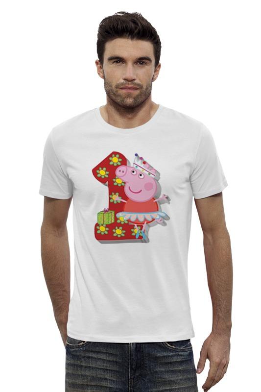 Футболка Wearcraft Premium Slim Fit Printio Пеппа футболка wearcraft premium slim fit printio peppa pig