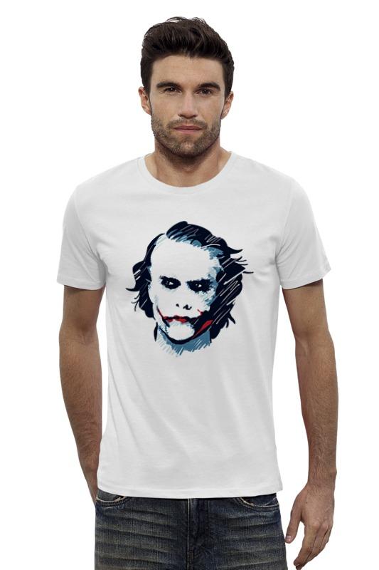 Футболка Wearcraft Premium Slim Fit Printio Джокер / joker футболка wearcraft premium slim fit printio joker