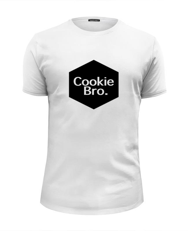 Футболка Wearcraft Premium Slim Fit Printio Cookie bro.