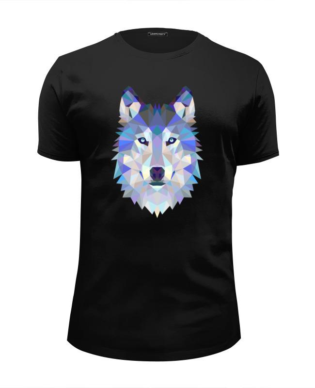 Футболка Wearcraft Premium Slim Fit Printio Wolf (волк) футболка print bar wolf motivation