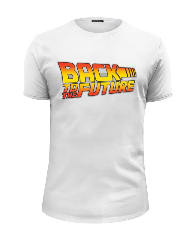 Printio Назад в будущее or back to the future футболка wearcraft premium slim fit printio назад в будущее back to the future