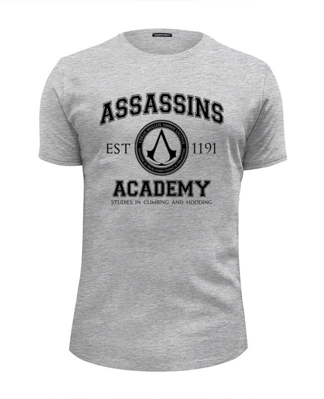 Футболка Wearcraft Premium Slim Fit Printio Assassins academy. assassin's creed футболка wearcraft premium slim fit printio starfleet academy