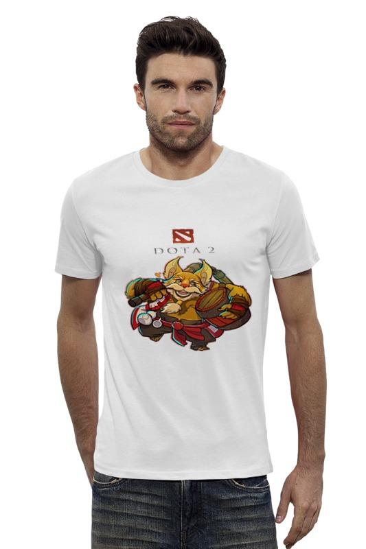 Футболка Wearcraft Premium Slim Fit Printio Дота 2 брюмастер футболка классическая printio dota 2 дота 2