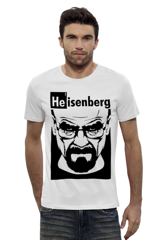 Футболка Wearcraft Premium Slim Fit Printio Heisenberg (breaking bad) fashion wired mechanical keyboard 104 keys rgb gaming keyboard led back light anti ghosting for teclado gamer