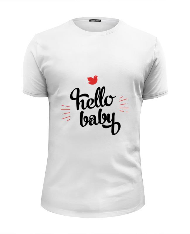 Футболка Wearcraft Premium Slim Fit Printio Hello baby футболка wearcraft premium slim fit printio hello liberty
