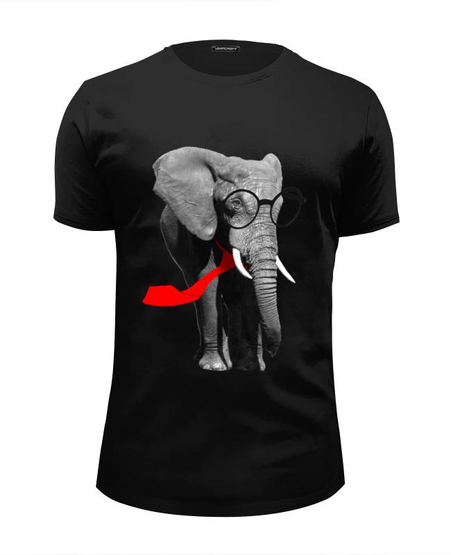 Футболка Wearcraft Premium Slim Fit Printio Классный слон футболка wearcraft premium printio классный слон