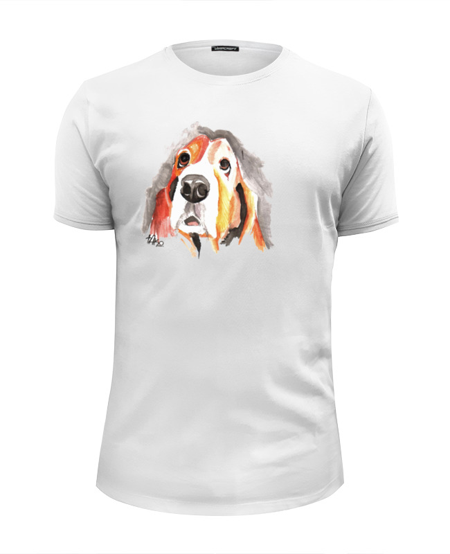 Printio С собачкой футболка wearcraft premium slim fit printio футболка с собачкой