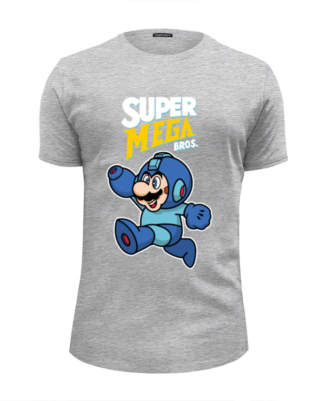 Футболка Wearcraft Premium Slim Fit Printio Super mario (mega man) футболка wearcraft premium slim fit printio spider man