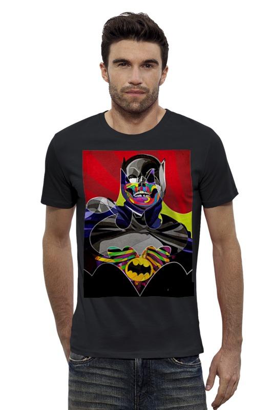 Футболка Wearcraft Premium Slim Fit Printio Бэтмен футболка wearcraft premium slim fit printio avengers