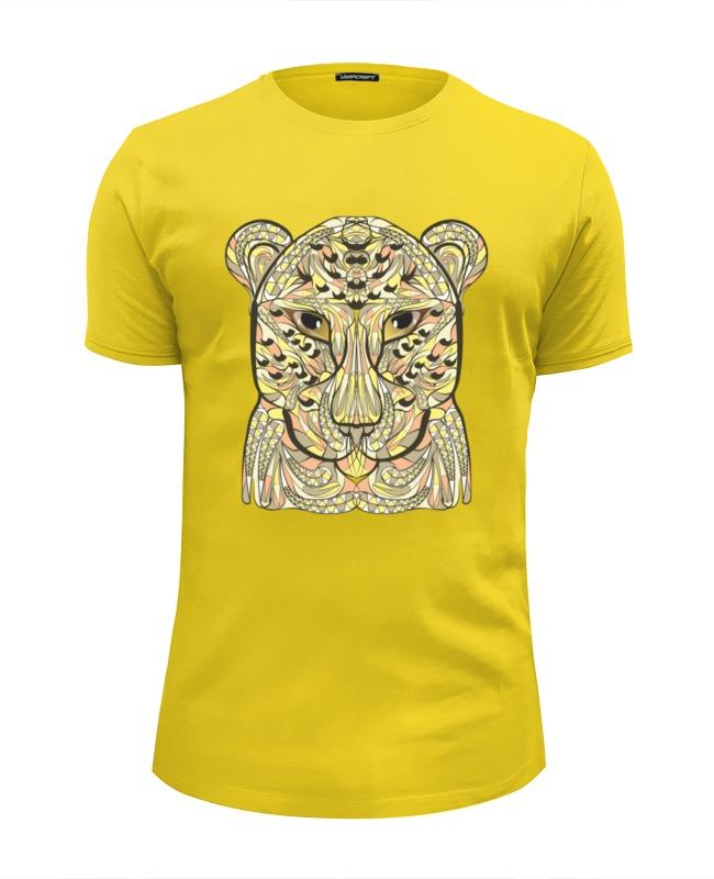Футболка Wearcraft Premium Slim Fit Printio Ethnic leopard schonbek 53508 22 h leopard