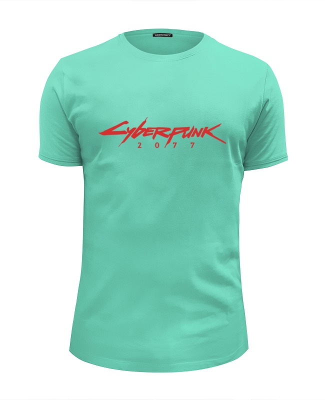 Футболка Wearcraft Premium Slim Fit Printio Cyberpunk 2077 линолеум ideal start coral 2077 3 5м