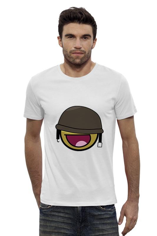 Футболка Wearcraft Premium Slim Fit Printio Смайлик футболка wearcraft premium slim fit printio avengers