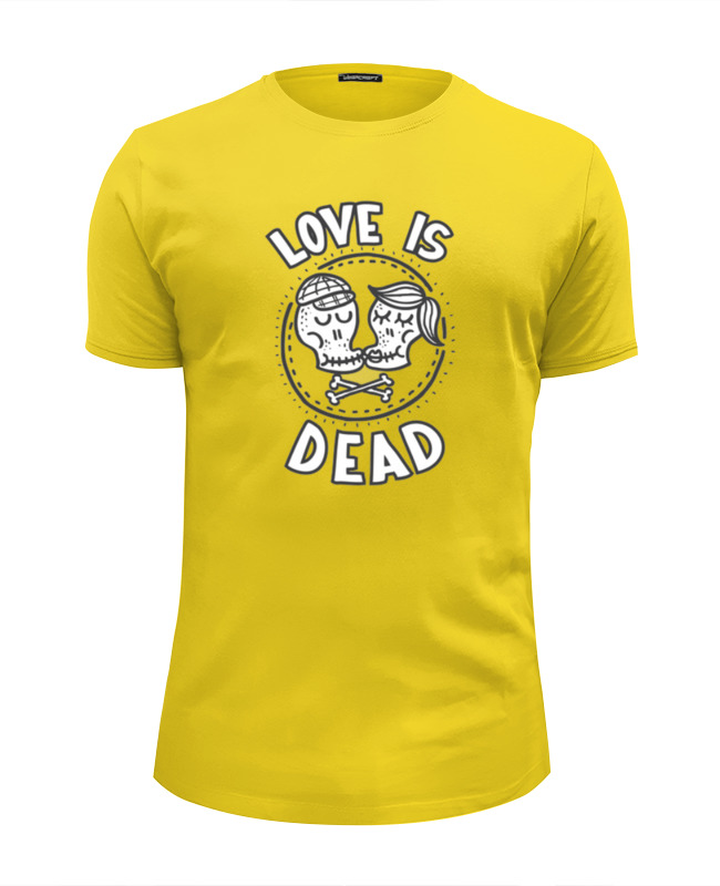 Футболка Wearcraft Premium Slim Fit Printio Love is dead футболка wearcraft premium slim fit printio i love ny
