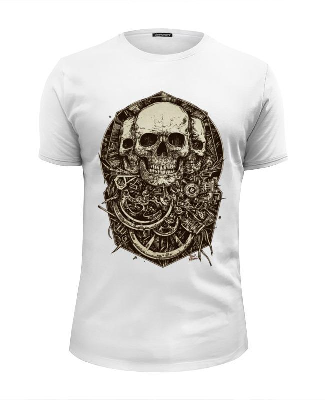 Футболка Wearcraft Premium Slim Fit Printio Skulls футболка wearcraft premium slim fit printio i love skulls