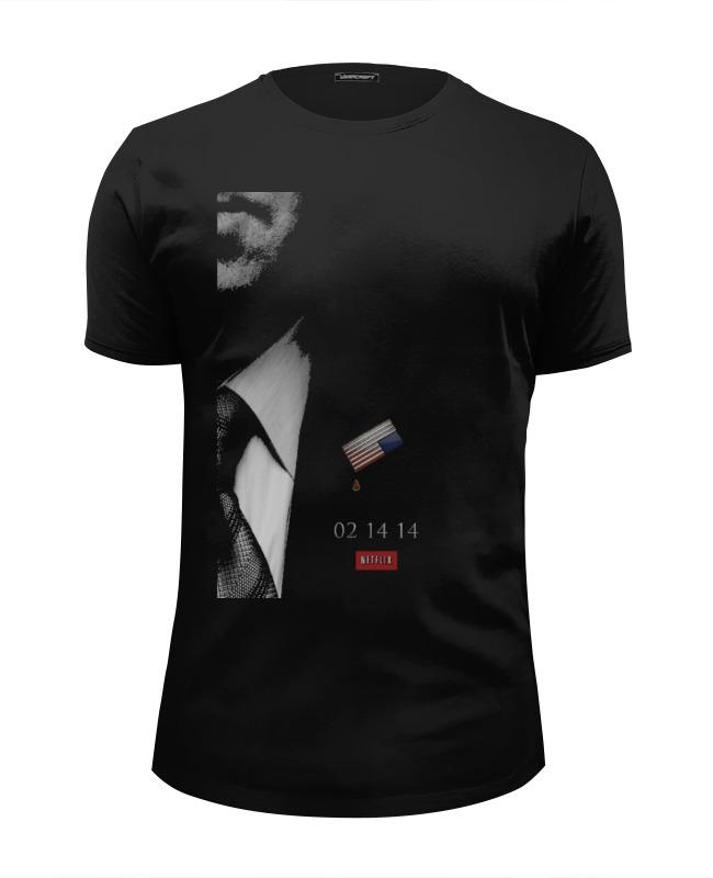 Футболка Wearcraft Premium Slim Fit Printio House of cards