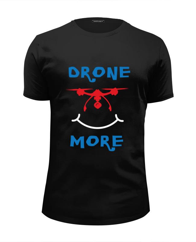 Футболка Wearcraft Premium Slim Fit Printio Дрон. sargan трезубец сарган дрон болшой l 320