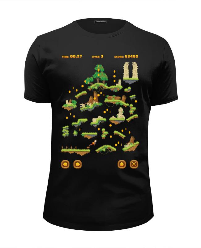 Футболка Wearcraft Premium Slim Fit Printio Конец игры футболка wearcraft premium slim fit printio игры гомера