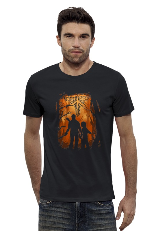 Футболка Wearcraft Premium Slim Fit Printio Одни из нас (the last of us)