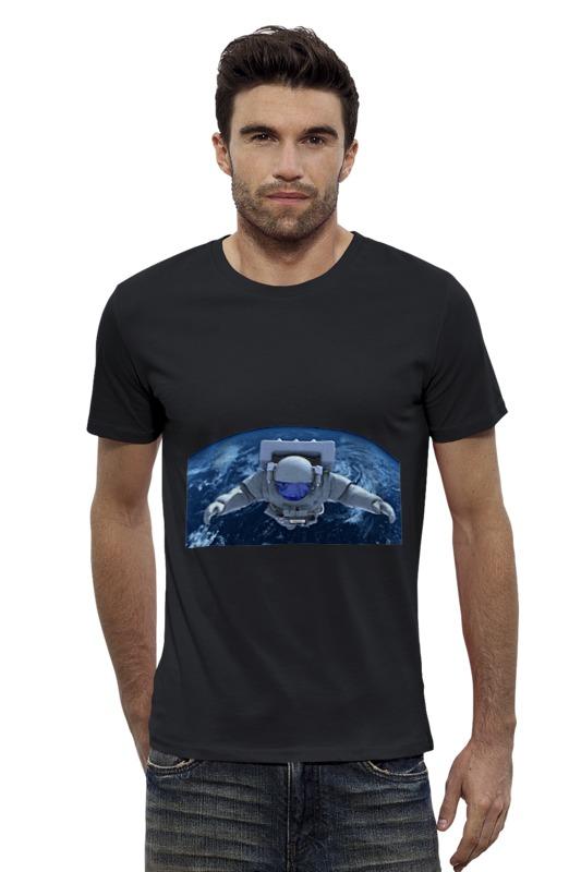 Футболка Wearcraft Premium Slim Fit Printio Путешествие в космос футболка wearcraft premium slim fit printio кит и планеты