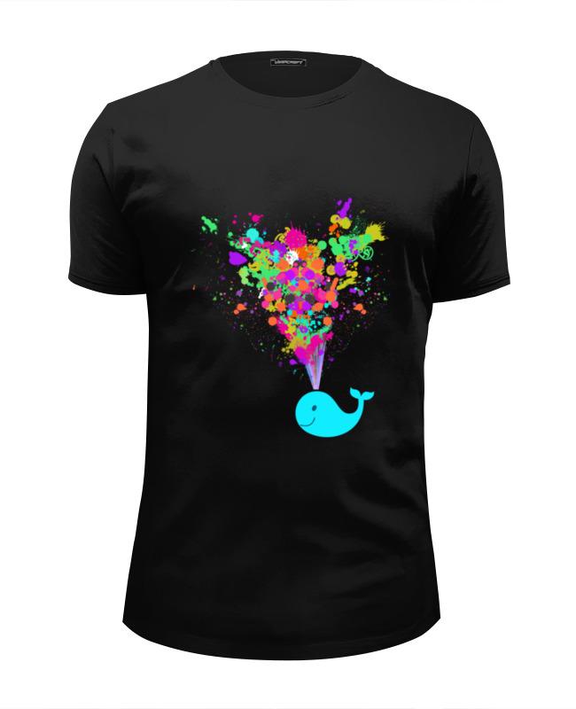Футболка Wearcraft Premium Slim Fit Printio Радужный кит футболка wearcraft premium slim fit printio радужный кот